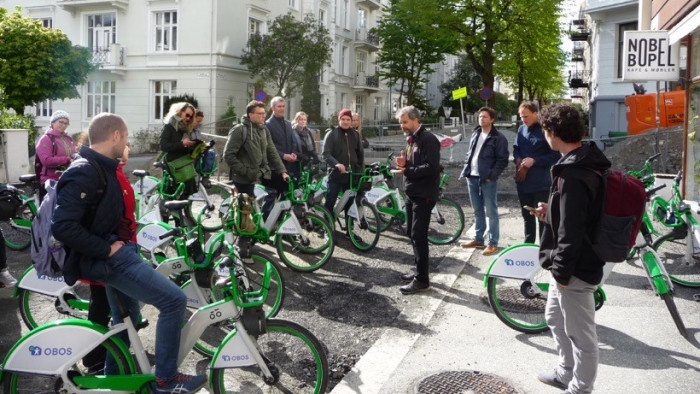 Task group meeting on bicycles in Bergen