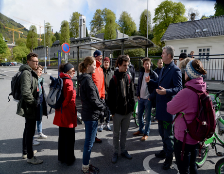 Cities meet in Bergen