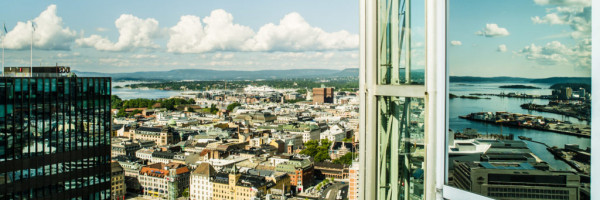 Oslo seen from building