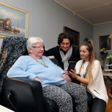 eldercare smart technology